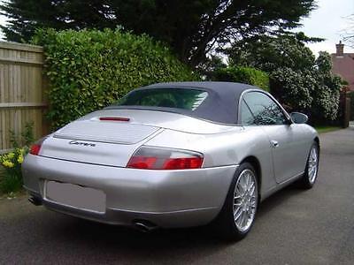 Porsche 911 996 Convertible Top Hood Black Oem German 1999 2001 Ebay