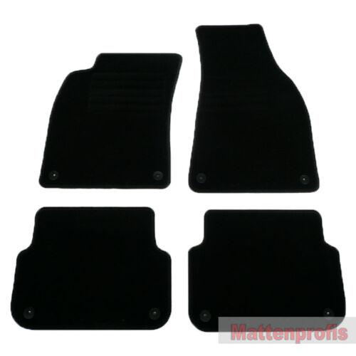 Mattenprofis Velours Fußmatten für Audi A6 4F C6 Limousine ab Bj.2006-2011