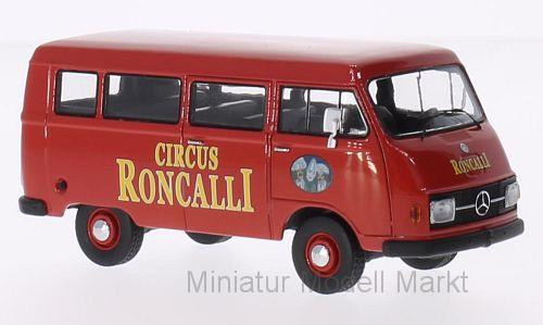 13551 - Premium ClassiXXs Mercedes L206 Bus - Circus Roncalli  - 1 43    Online Shop