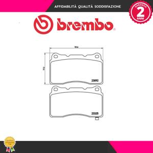 Freno a disco P54039 Kit pastiglie freno MARCA-BREMBO