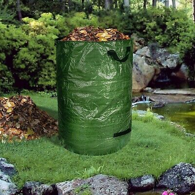 Gartensack Gartenabfallsack Set 2 Stück Laubsack Rasensack Abfallsack 500 Liter