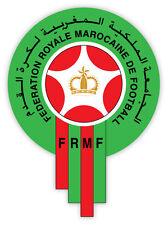 "Morocco FRMF Marocaine National Football Association sticker decal 4"" x 5"""