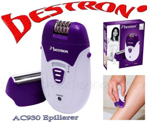 Bestron AC930 AKKU Netz Epilierer Rasierer Haarentferner Massage 32 Epilierpinz