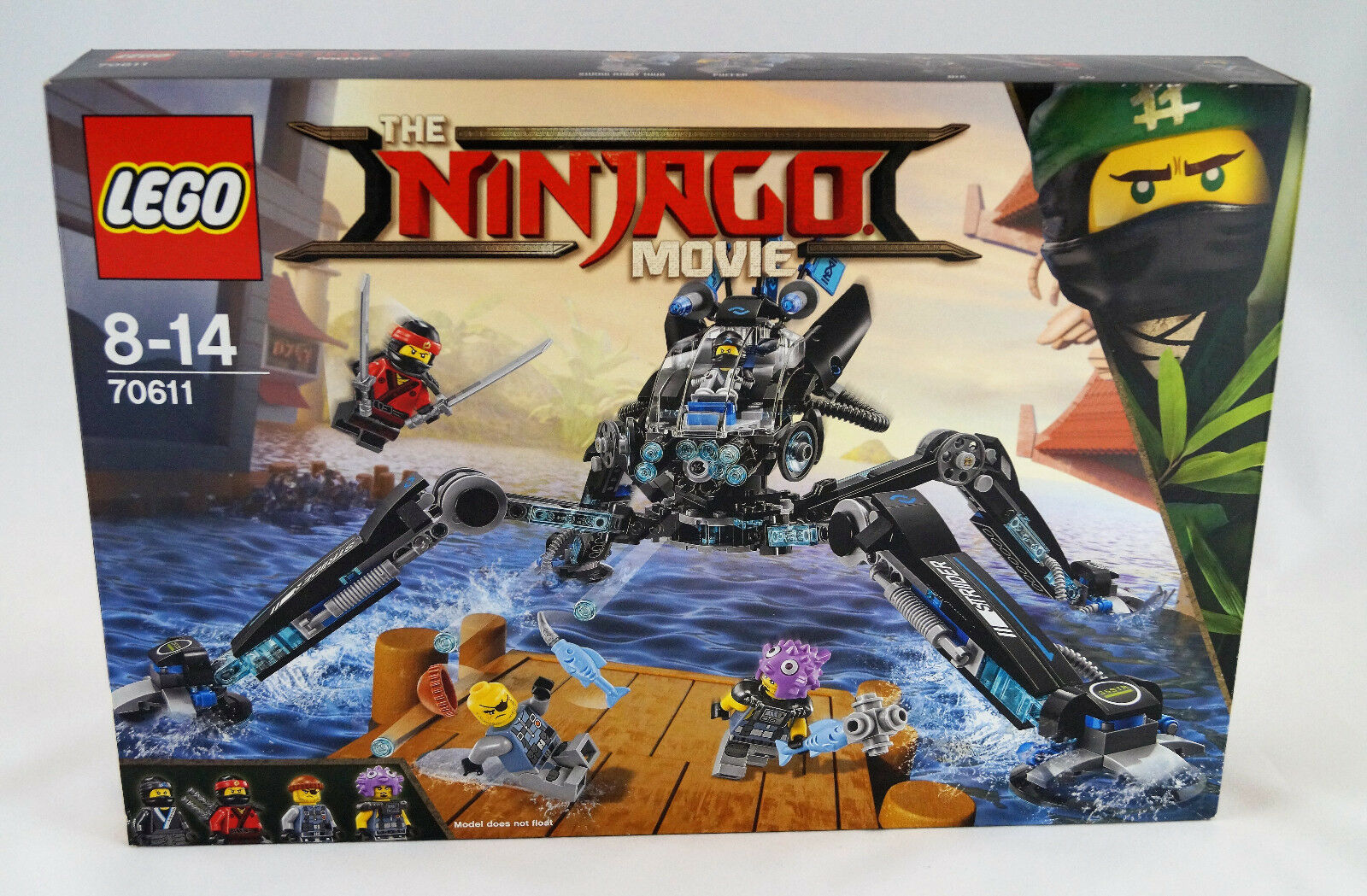 Lego® The Ninjago Movie 70611 Nya's Wasser-Walker Water Strider Neuware   New