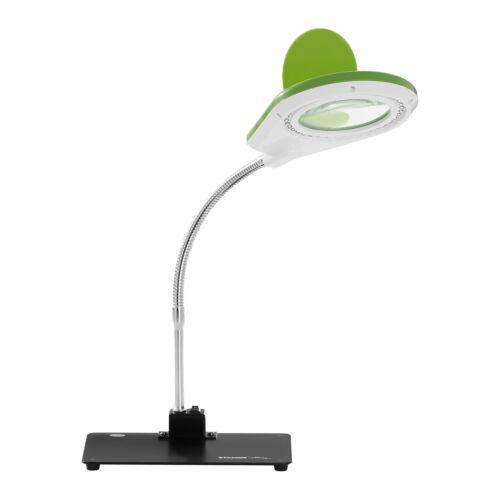 Lupenleuchte LED Arbeitsleuchte Lupenlampe Tischlupe 90Mm 1W 5X 10X Vergrößerung