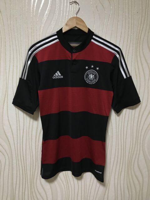 6a8180cdd52 adidas Germany 2014 2015 Away Shirt Jersey Soccer Football World Cup ...