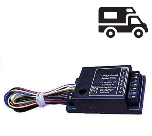Faisceau multiplexé pour attelage compatible toutes marques et camping car