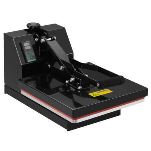 "15/"" x 15/"" Digital Clamshell Heat Press Machine Transfer Sublimation T-shirt"
