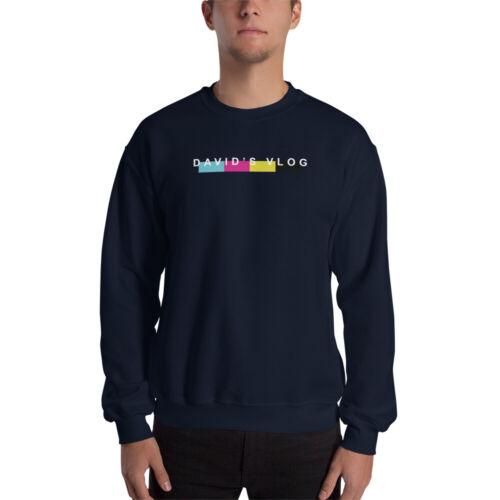 David Dobrik David/'s VlogVlog Squad Merch Crewneck Unisex Sweatshirt