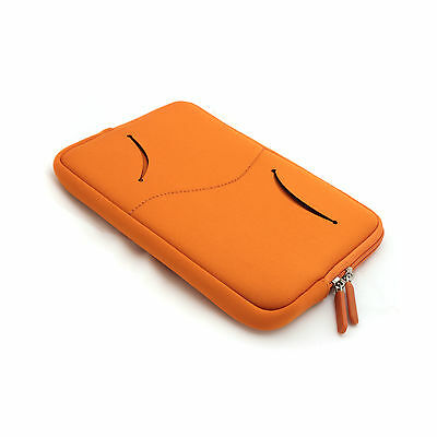 """Zipper Sleeve Bag Protective Case for 7"""" Tablet PC E-Book-Readers MID+BK Stylus"""