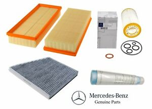 OEM GENUINE MERCEDES BENZ E CLASS W211 S211 CABIN /& ENGINE AIR FILTER KIT
