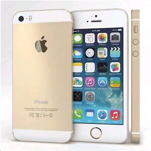 Apple-iPhone-5s-16gb-originale-Gold-Oro-Ricondizionato-grado-AB-accessori