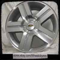 20 Silver Chevrolet Silverado 1500 Texas Oe Factory Replica Wheels 5x5 5x127 +0