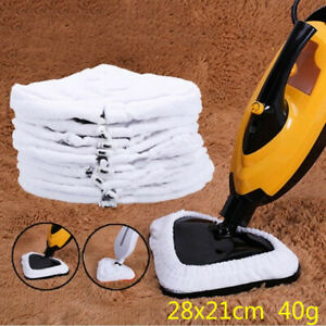 3x-Cleaning-Pad-Super-absorbent-Microfibre-Steam-Mop-Cleaner-Accessories-New