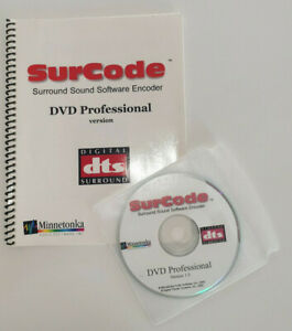 SurCode-Minnetonka-DVD-DTS-Professional-Product-no-3001-00106-000