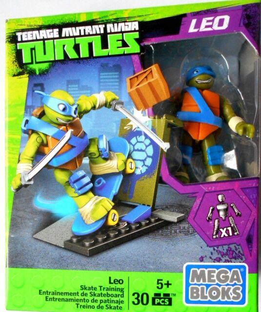 Mega Bloks Teenage Mutant Ninja Turtles Leo Skate