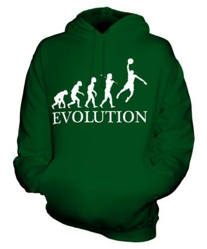 Basketball Slam Dunk Evolution Of Man Unisex Kapuzenpullover