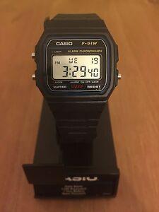 Reloj-Casio-F-91W-URGENTE-24h-Digital-Pulsera-agua-Retro-Vintage-Clasico-F-91-W