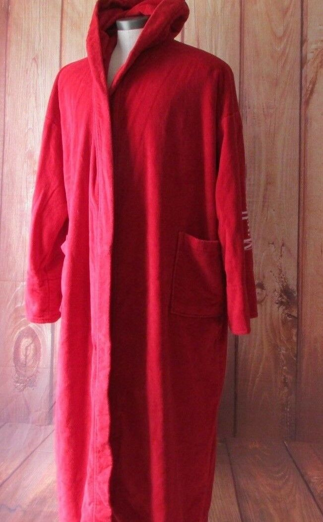Marlbgold men's red bath size XXL robe  collectibles very good collection