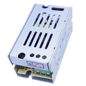 U6R0 Spannungswandler Stromversorgung AC 110 // 220V DC 12V 1A Silber F5Z1 2X