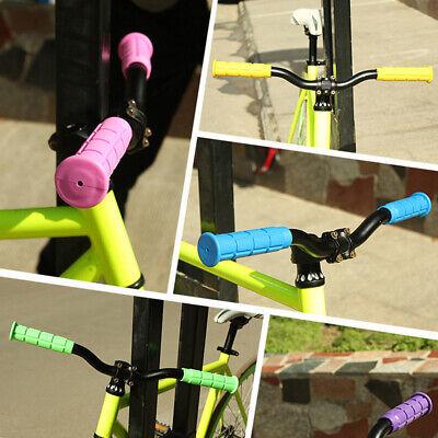 1 Pair Stylish MTB Mountain Bike Bicycle Non-Slip Rubber Handlebar Cover Grips