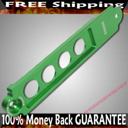 GREEN Billet Aluminum Battery Tie Down for 02-06 Acura RSX Base//Type-S Coupe 2D