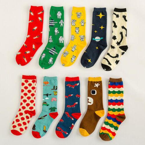 Glücklich Socks Bunt Gemusterte Muster Baumwollsocken Damensocken Herrenstrümpfe