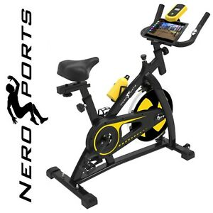 Nero-Sports-Spin-Bike-Aerobic-Exercise-Indoor-Training-Fitness-Gym-Spinning-New