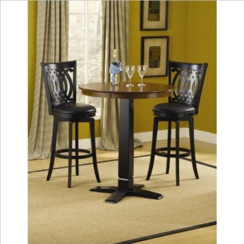 4975PTBBLK Table NEW Hillsdale Dynamic Designs Pub Table Black//Brown Cherry