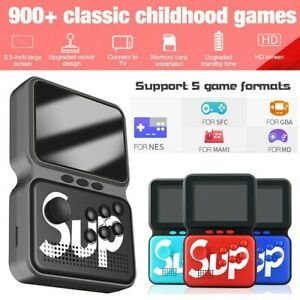 Mini Retro Handheld Game Console System 900 Games In 1 Built In Color USA Ship