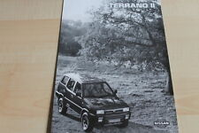137741) Nissan Terrano II - technische Daten & Ausstattungen - Prospekt 11/1995