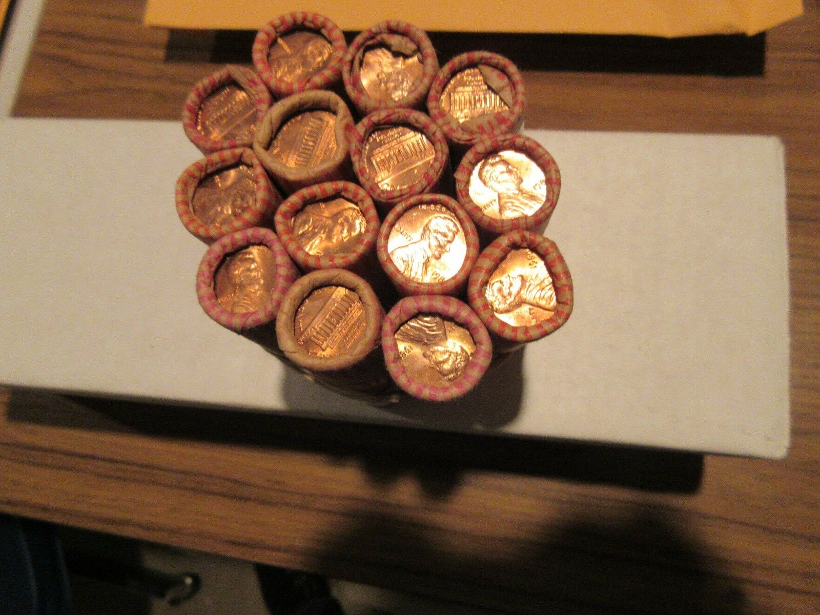 1974 , Lincoln Penny Roll , Uncirculated