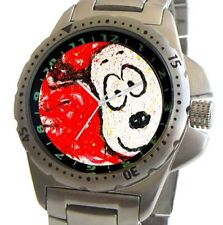 """Spring"" by Tom Everhart on Stainless Steel Sport Watch With Elapsed Time Bezel"