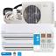 thumbnail 1 - 28000 BTU Dual Zone Ductless Mini Split Air Conditioner and Heat Pump 23 SEER