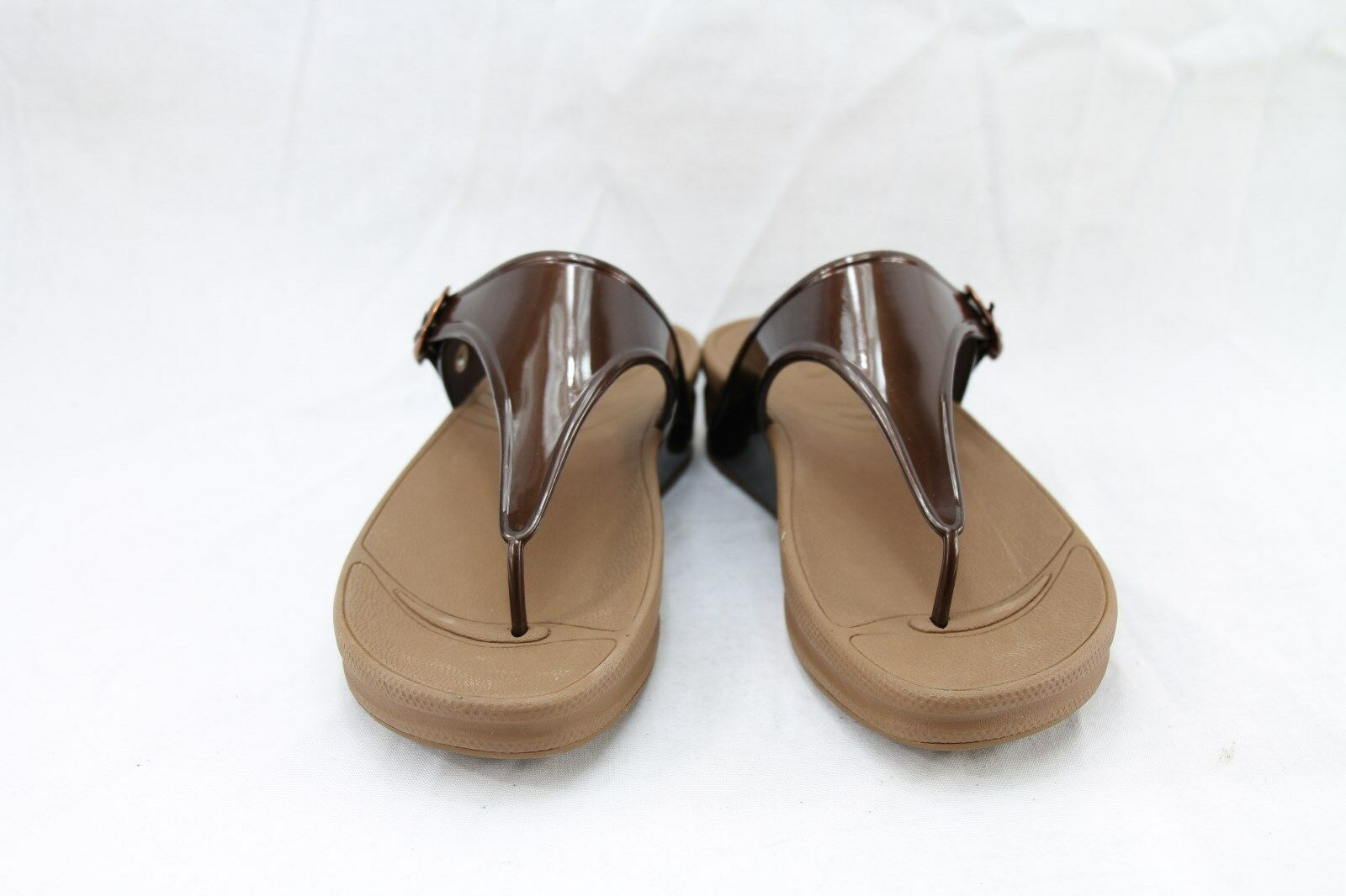 535da7cc29cf FitFlop Super Jelly Microwobbleboard 403-012 Thong Sandals Medium (b ...