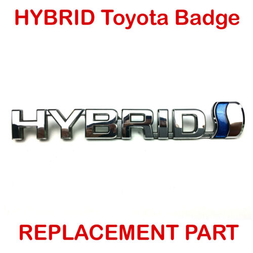 New TOYOTA HYBRID DRIVE BADGE Boot Emblem Prius