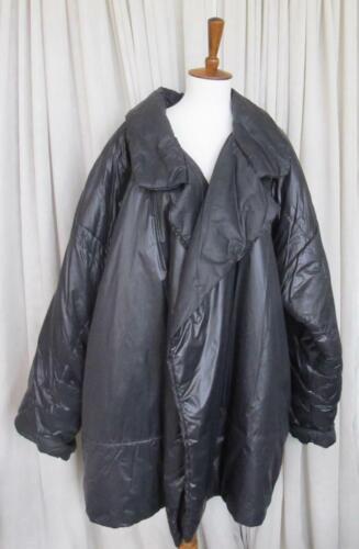 Vintage Norma Kamali Jacket Sleeping Bag Black Nyl