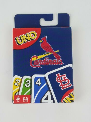 Uno St Louis Cardinals Card Game New Mattel