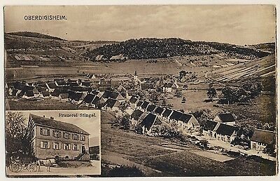 Bier Brauerei Stingel Obligatorisch Oberdigisheim Oa Balingen Ak Um 1920 MöChten Sie Einheimische Chinesische Produkte Kaufen?