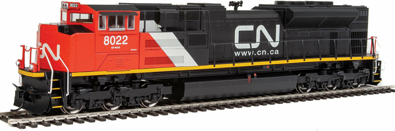 Traccia h0Walthers DIESEL EMD sd70ace Canadian National con suono  19858 NUOVO