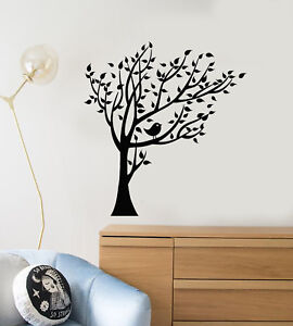 Details About Vinyl Wall Decal Cartoon Bird On The Tree Children S Room Decor Stickers 2329ig