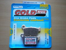 SINTERED OFFROAD REAR BRAKE PADS For SUZUKI RM-Z 450 2005-2006 RMZ RMZ450