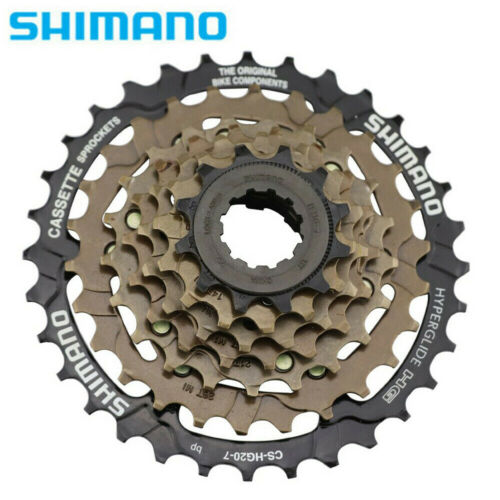 Shimano 12-32T CS-HG20-7 Speed MTB Bike Cassette Freewheel Cog With Remove Tool