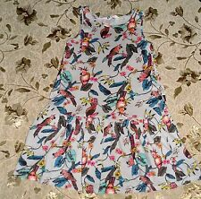H&M Birds Tricot Cotton Dress size 122/128