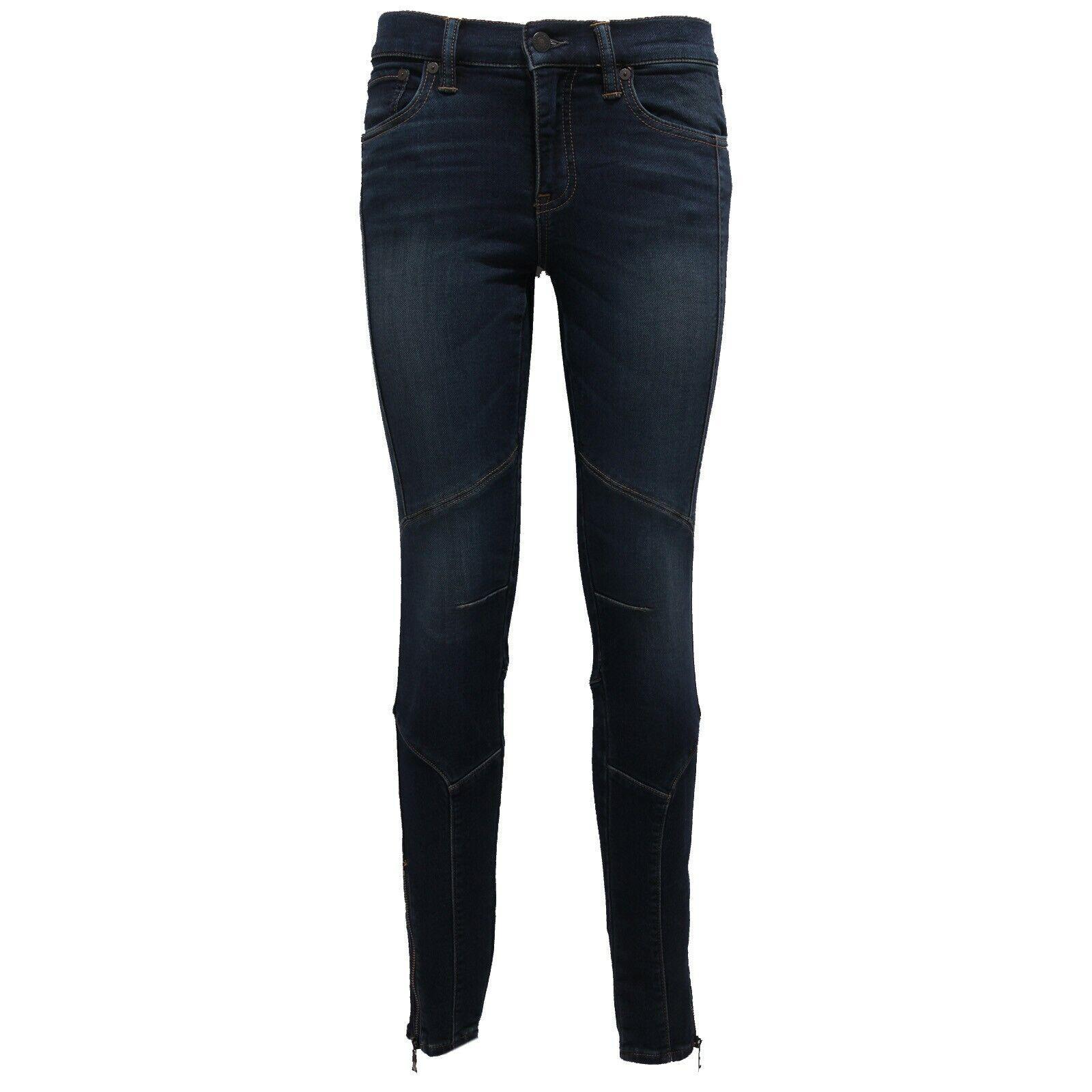 4280Z Jeans mujer RALPH LAUREN azul  delave & 039;JOGGJEANS Pantalón mujer  mejor vendido
