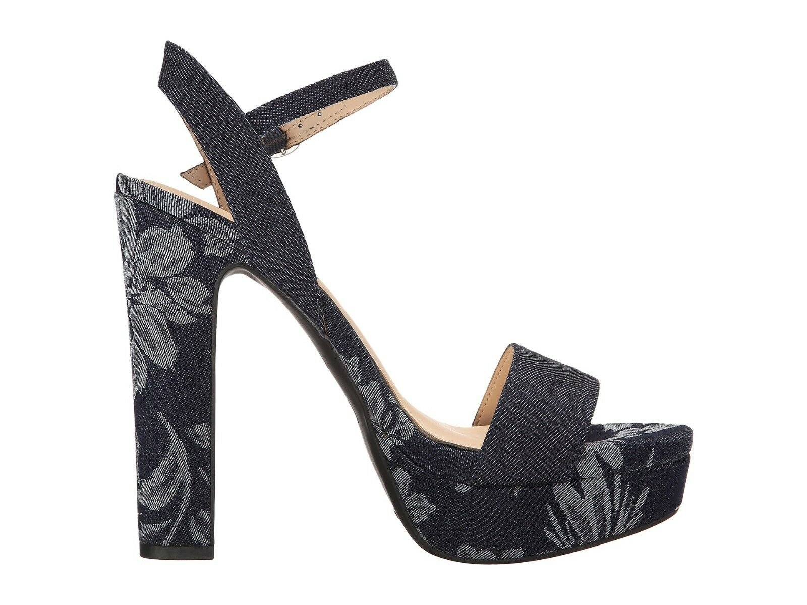 Jessica Simpson Blaney Größe Platform High Heel Sandals, Größe Blaney 8.5 Indigo JS-Blaney 8dc55b