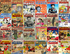 1954-1963 My Little Margie Comic Book Package 25 eBooks on CD