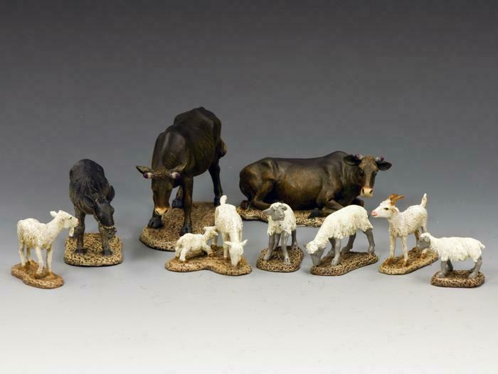 SP070 - The djur samling - Diorama Accessores - King - and Country