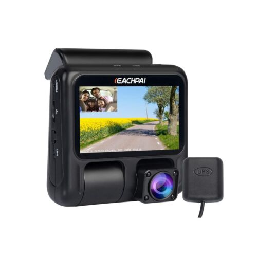 Dual Dash Cam,EACHPAI X100 Pro Dash Camera for Cars//Uber//Lyft//Truck//Taxi 1920...