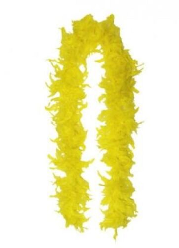 LADIES 150 CM High Quality 50gm Feather Boa 20s Flapper Hen Night Fancy Dress